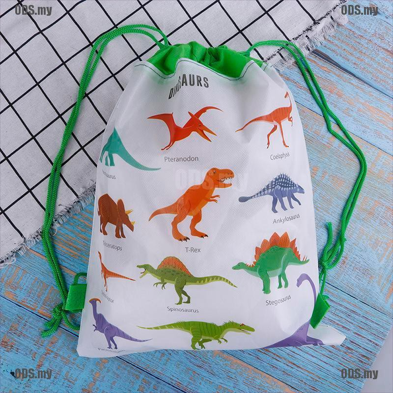 ( Ods ) กระเป๋าเป้สะพายหลังลายไดโนเสาร์เหมาะกับการพกพาเดินทาง