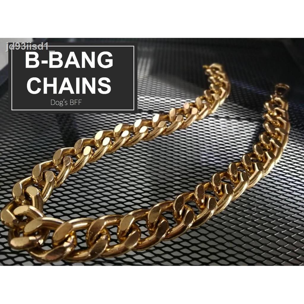 🔥มีของพร้อมส่ง🔥ลดราคา🔥✽♙สร้อยคอสร้อยคอเชือกผูกรองเท้า B-Bang สีทอง