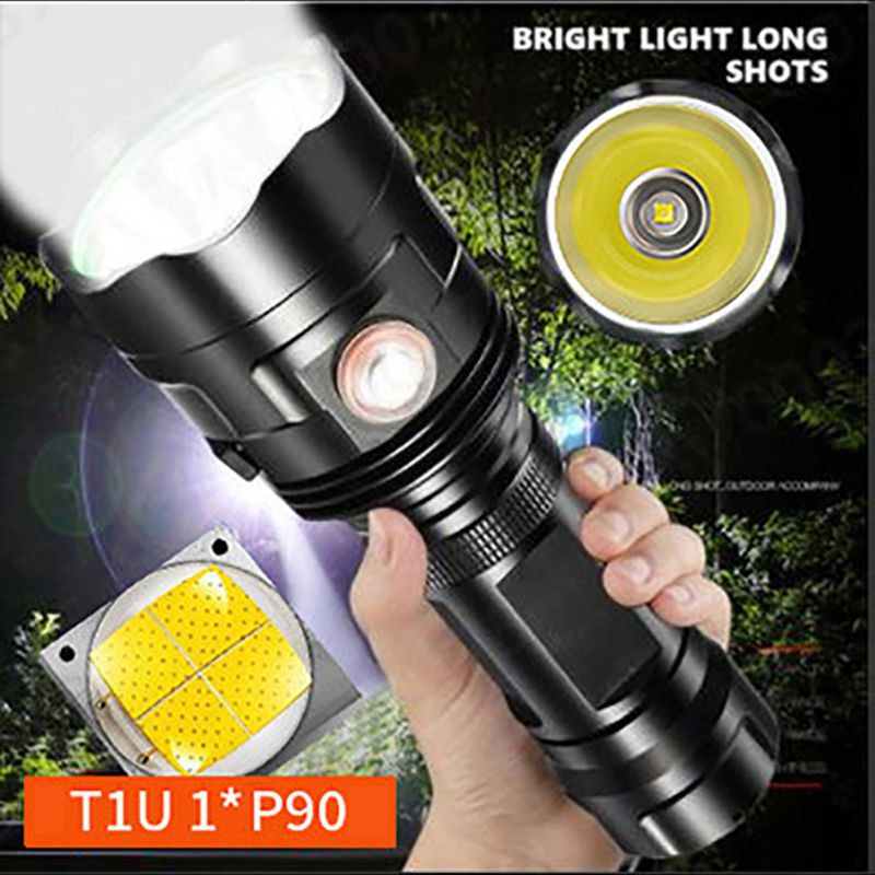 Rechargeable USB Ultra Bright Cree LED Torch Flashlight Beam Focusing Zoom