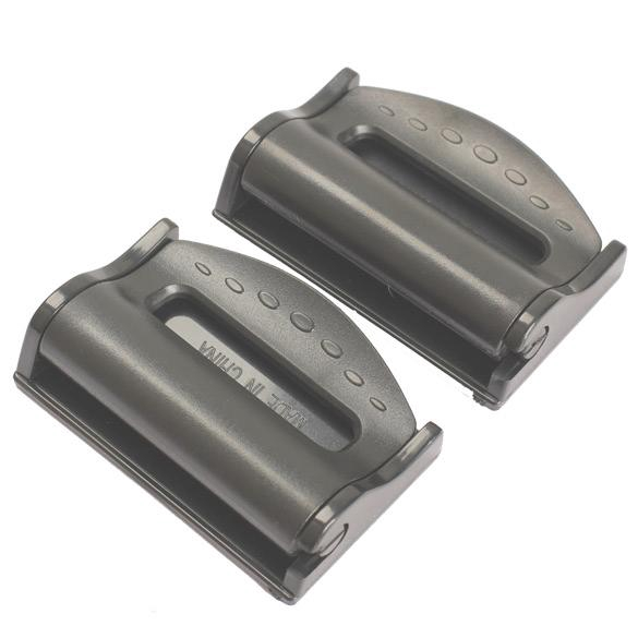 2X Car Seat Belt Adjuster Car Seatbelt Clip Stopper Strap Buckle Comfort Tension