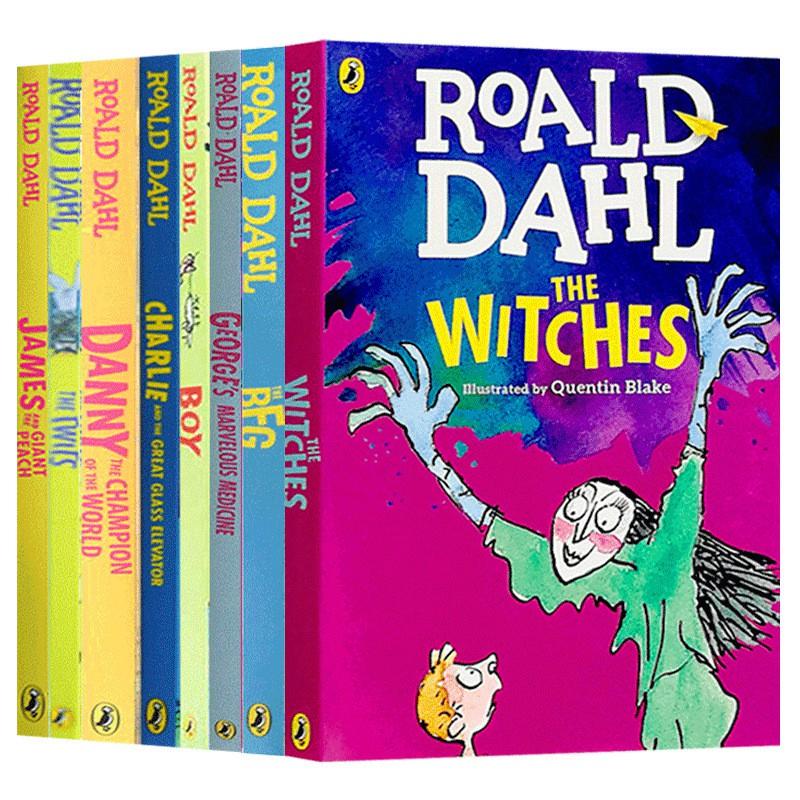 Hot Books Roald Dahl หนังสือภาษาอังกฤษสําหรับเด็ก