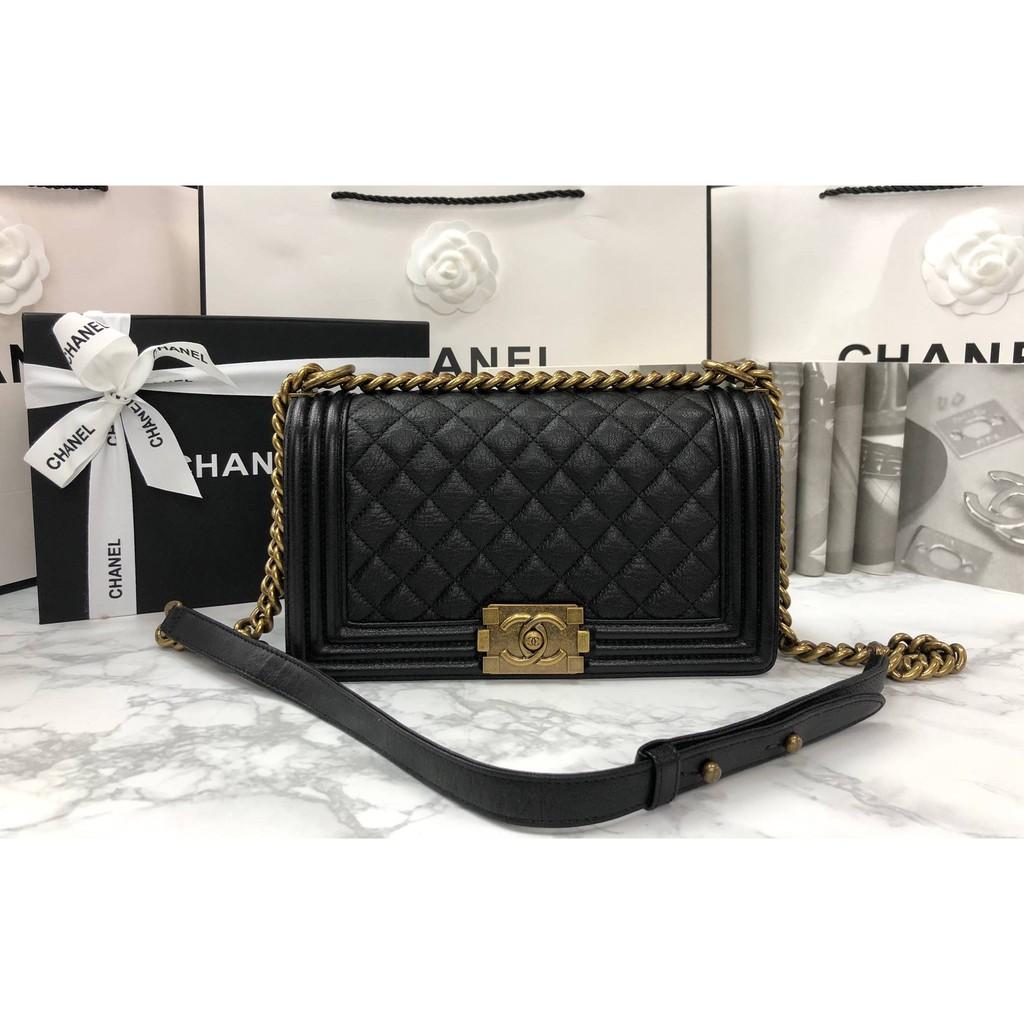 Chanel Boy 10 Calfskin GHW