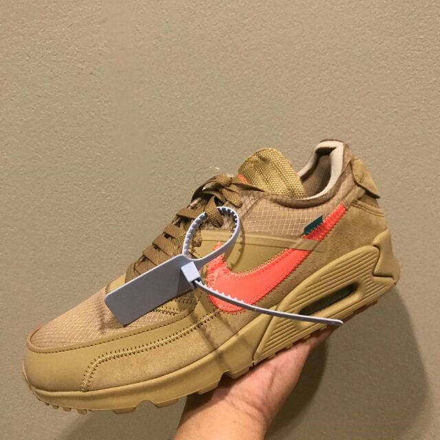 """🤓Where To Buy The Off-White x Nike Air Max 90 """"Desert Ore"""""""