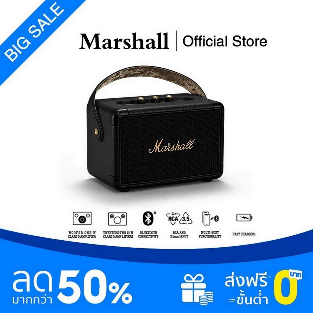 Marshall ลำโพงบลูทูธ - Marshall Kilburn II Grey Black 【COD】 ht1K