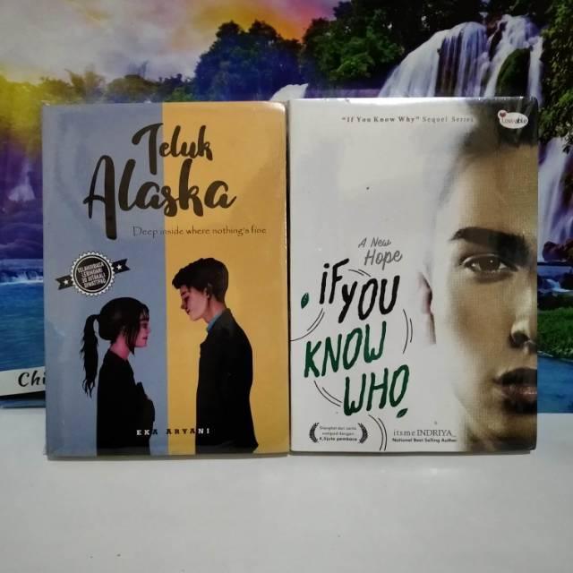 แพ็คเกจ 2 Books Of Wattpad Novel Books ALASKA & IF YOU KNOW WHO