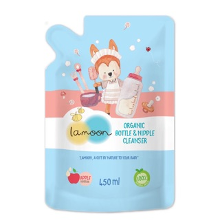Lamoonbaby bottle & nipple cleanser