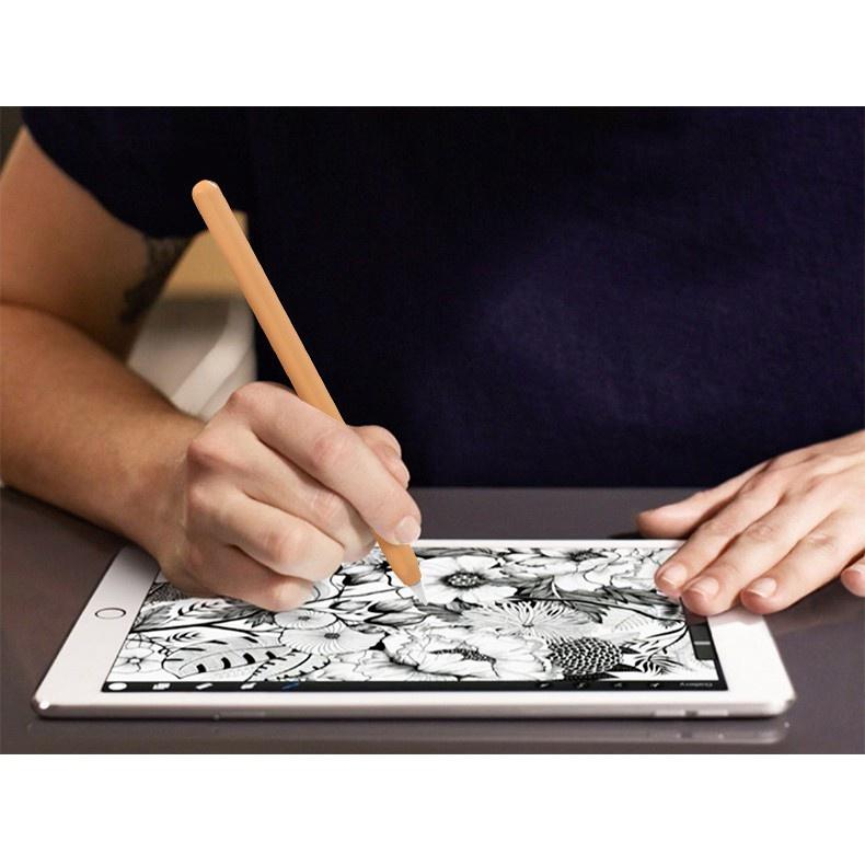 ฤดูร้อนรูปแบบใหม่  ♣♧❈พร้อมส่งปลอกปากกา Applepencil Gen 2 รุ่นใหม่ บาง0.35 เคส ปากกา ซิลิโคน ปลอกปากกาซิลิโคน เคสปากกา A
