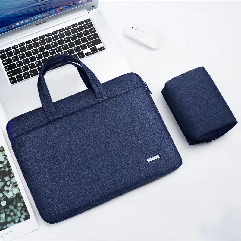 """กระเป๋าแล็ปท็อปพร้อมกระเป๋าเดินทางแบบผูกเชือกกันน้ำสำหรับโน้ตบุ๊ก Lenovo Apple Huawei 14 15.6 """"13.3 นิ้ว"""