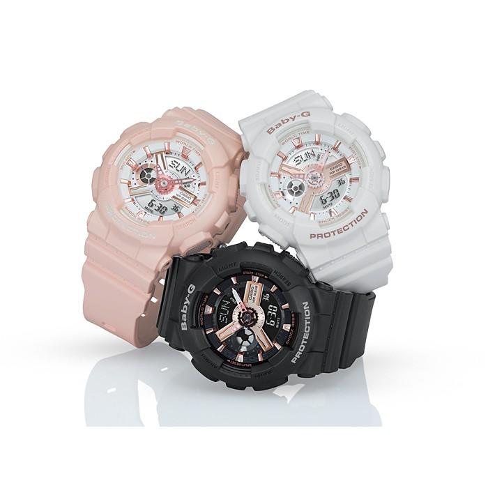 applewatch series 6™●♠BabyG BA-110 Series ของแท้100% รับประกันเครื่อง 1 ปี BA-110-1A,BA-110-7A1,BA-110CR-4A,BA-112-1A,BA