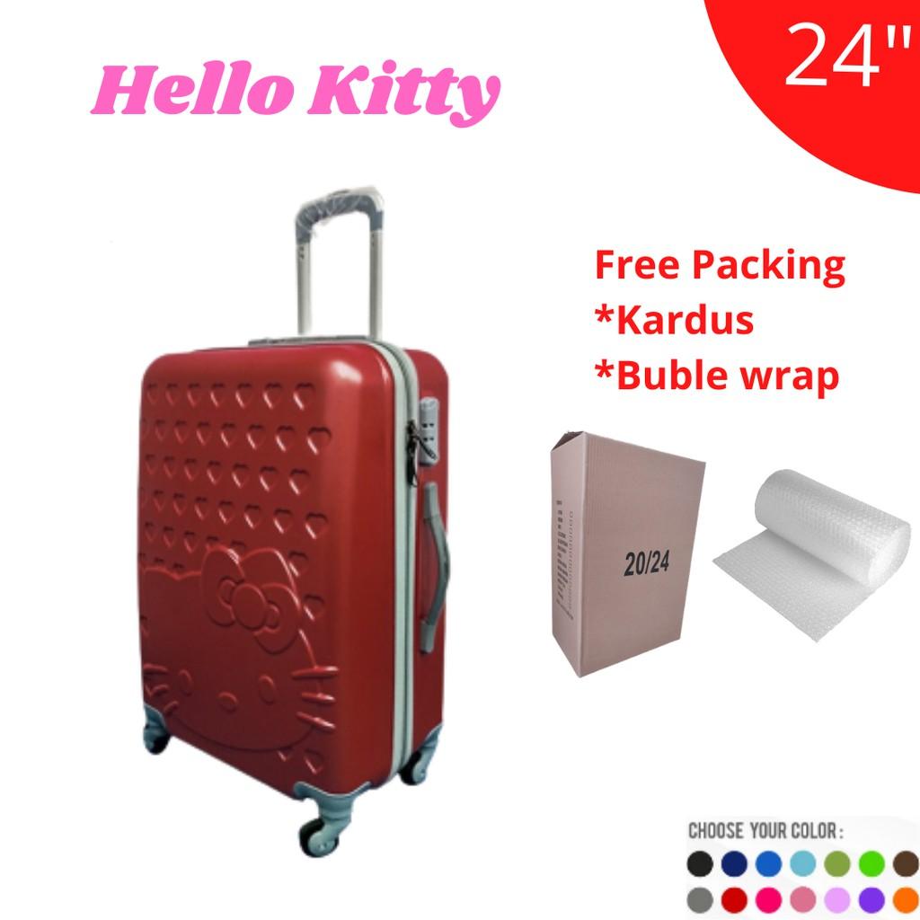 Hello Kitty กระเป๋าเดินทาง 24 นิ้ว 2021 ABS ไฟเบอร์