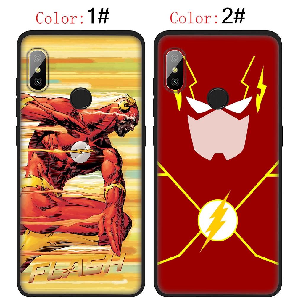 Xiaomi Redmi Note 5 6 Pro Plus 5A The Flash barry allen Soft TPU Phone Case