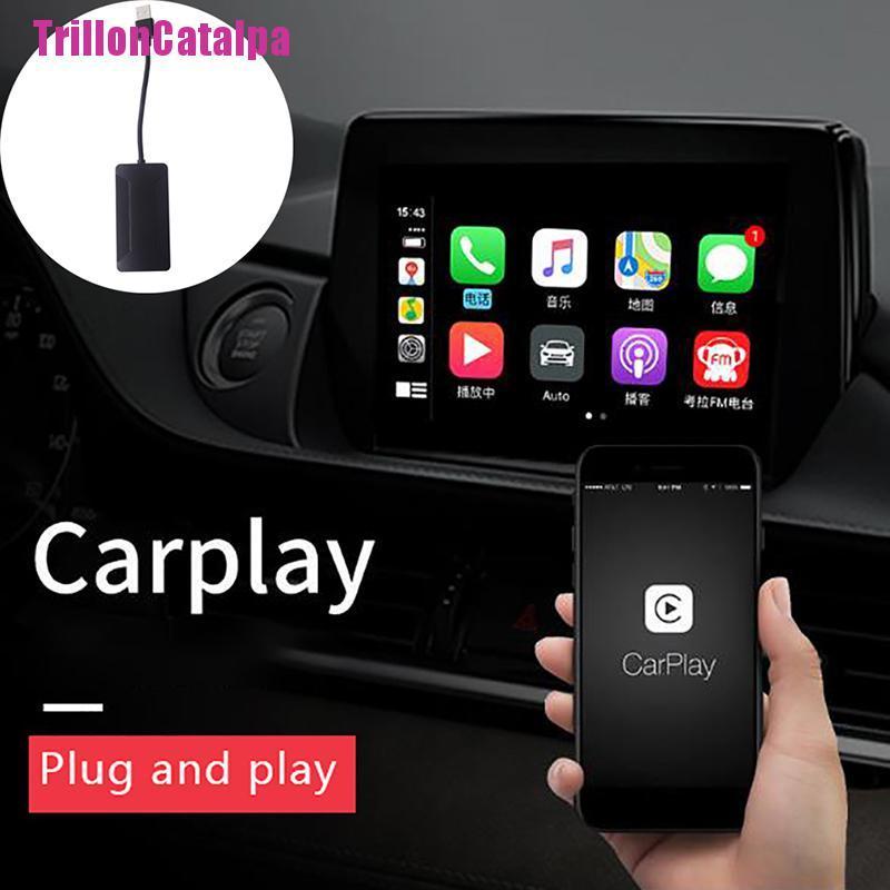 ANDROID ( Trillon ) Carlinkit Usb Carplay Dongle อะแดปเตอร์นําทาง Gps สําหรับ Android ติดรถยนต์