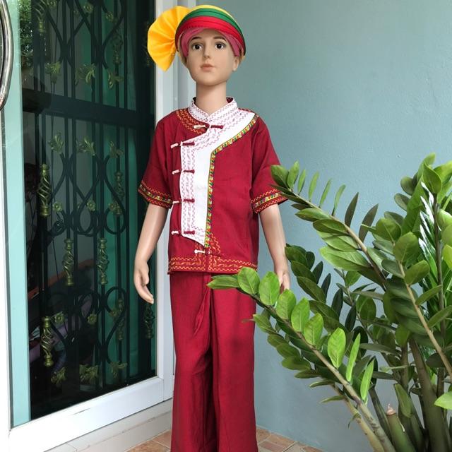 ชุดไตเด็กผู้ชาย#ชุดพื้นเมืองชาย #ชุดพื่้นเมืองหญิง #ชุดไทยใหญ่ #เสื้อผ้าไทใหญ่ #ชุดผู้ชาย#ชุดผู้หญิง#ชุดงาน#กางเกง#เสื้อ