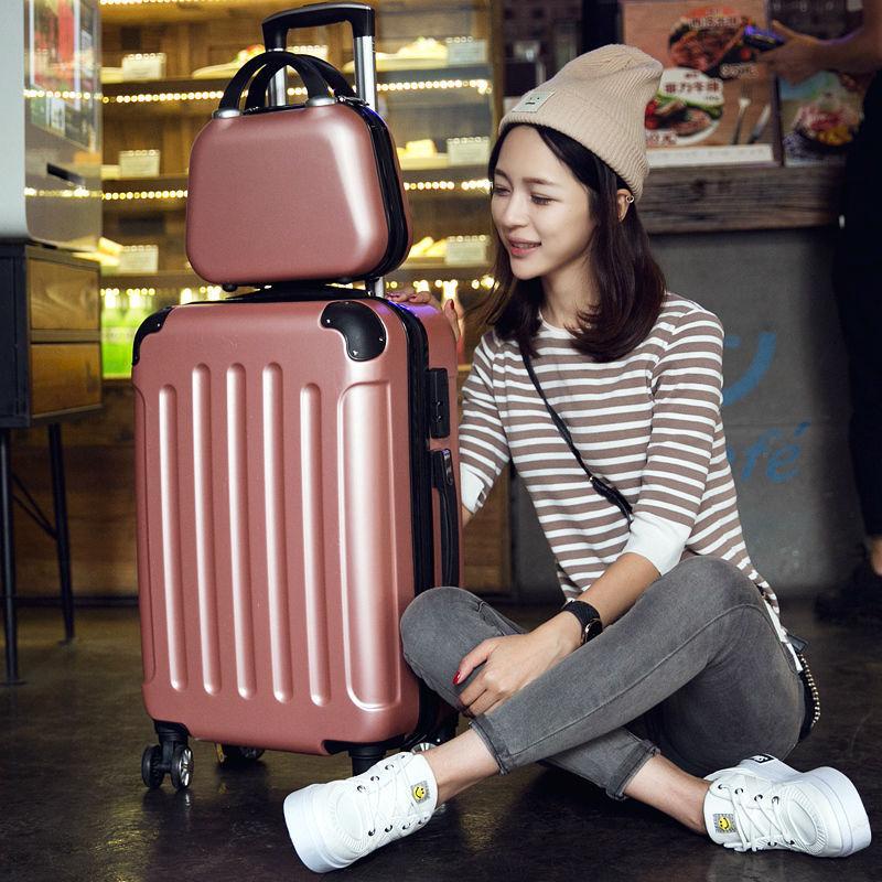 กระเป๋าเดินทางหญิง20กระเป๋าเดินทางล้อสากลชาย24นิ้วนักเรียนรหัสผ่านกล่อง26-นิ้ว28-นิ้ว