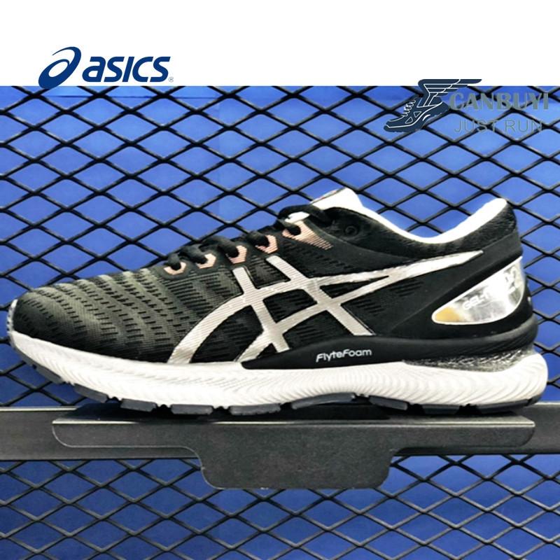 บัฟเฟอร์ที่มีเสถียรภาพ ASICS GEL-NIMBUS 22 รองเท้าวิ่งผู้ชาย