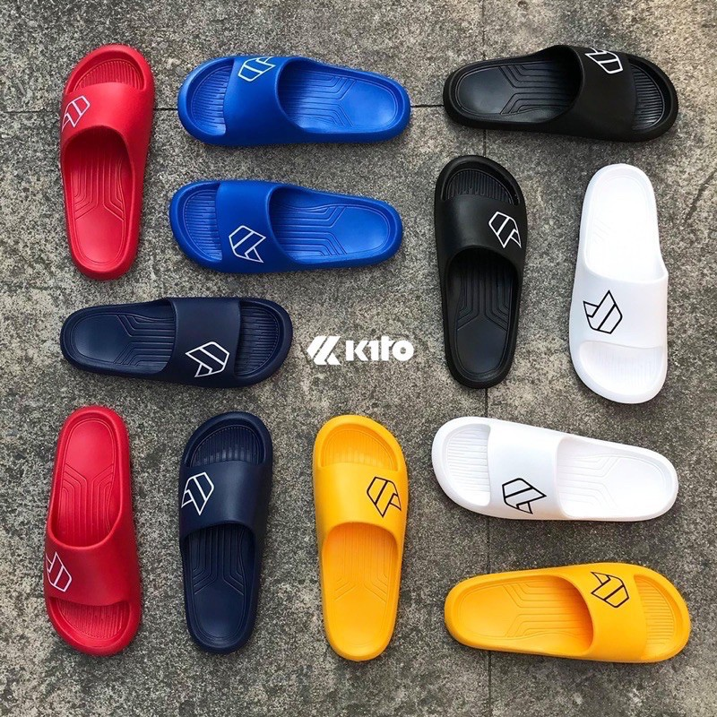ลดเพิ่ม50% Mssos50 ? Kito Ah84แท้?% รองเท้าแตะ Unisex 36-43 รองเท้าแตะชาย รองเท้าแตะกีโต้.