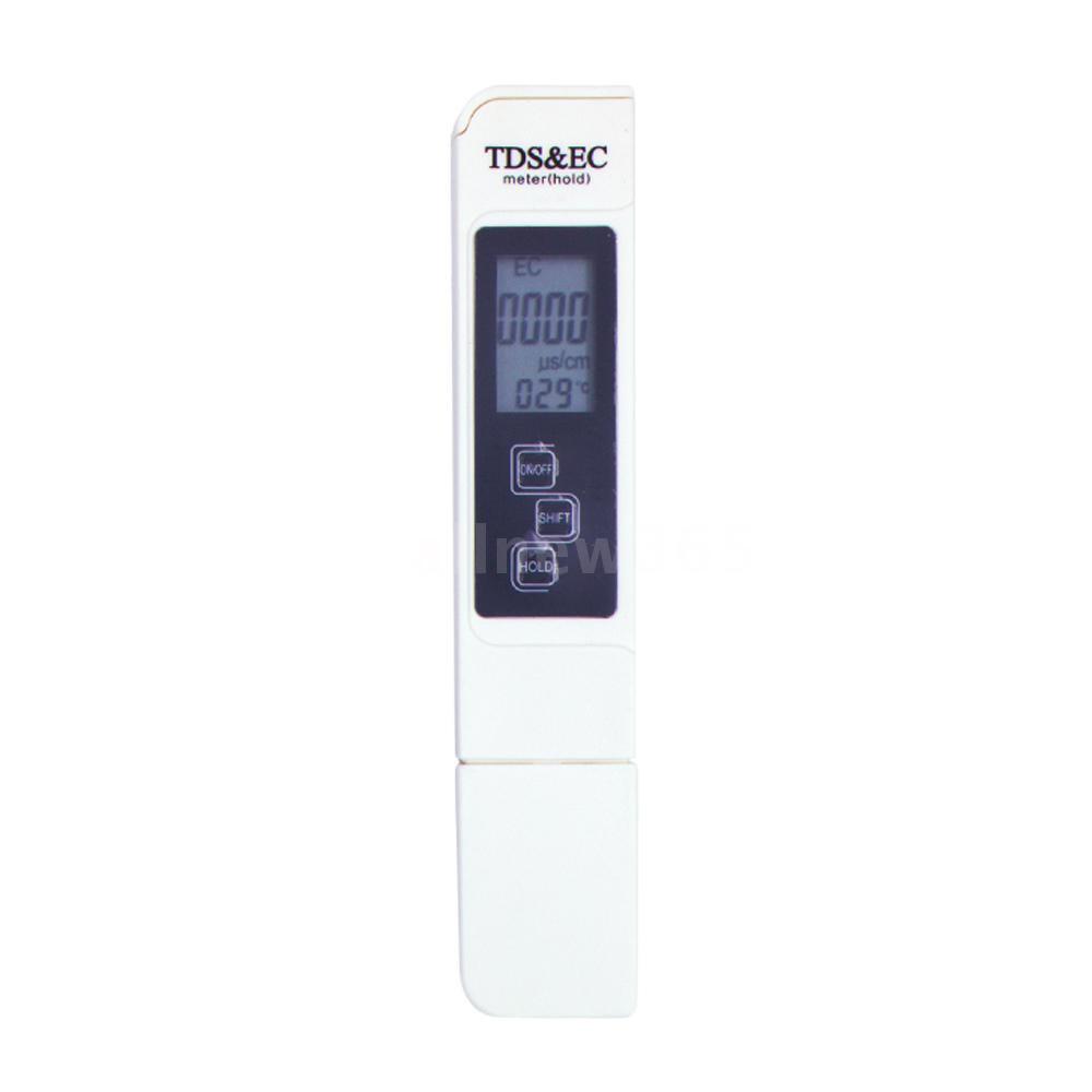 Digital TDS Meter Water Quality Testing Pen Water Purity Filter Accurate Monitor TDS Temp Meter Watertest Meter for Aquarium Pool