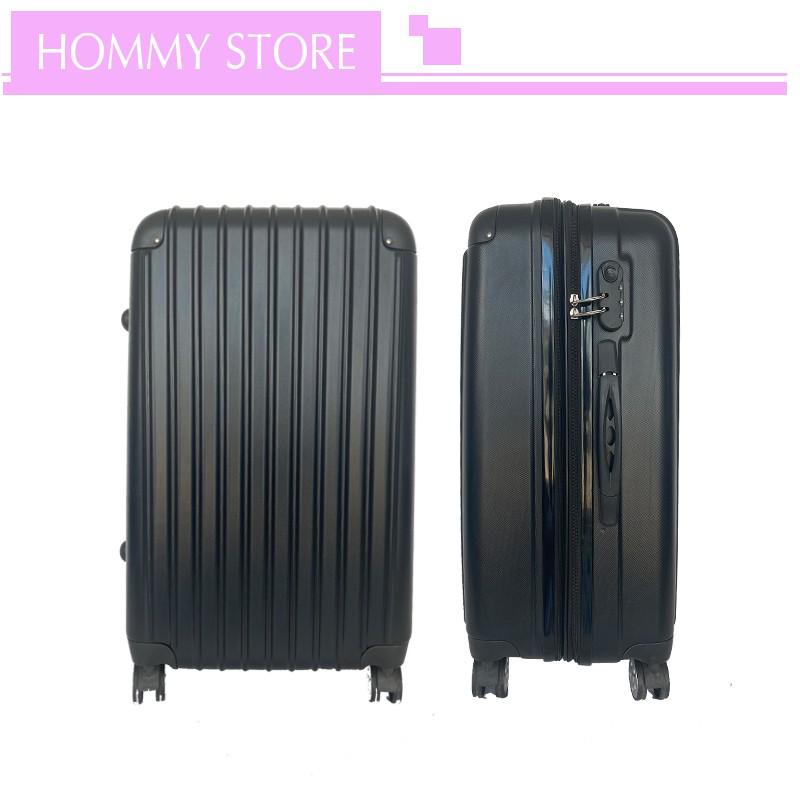 กระเป๋าเดินทาง กระเป๋าเดินทางกันน้ำ กระเป๋าเดินทางล็อกรหัส กระเป๋าเดินทางล้อลาก ขนาด 20 / 24 / 28 นิ้ว วัสดุ ABS+PC vSLA