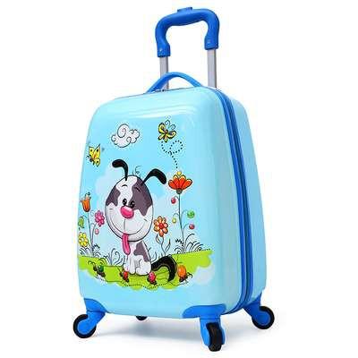 ⊙❐♤กระเป๋าเดินทางล้อลากเด็ก 18 นิ้ว กระเป๋าเดินทางล้อลาก กระเป๋าเดินทางล้อลาก กระเป๋าเดินทางลายการ์ตูนเด็กผู้ชาย 19 นิ้ว