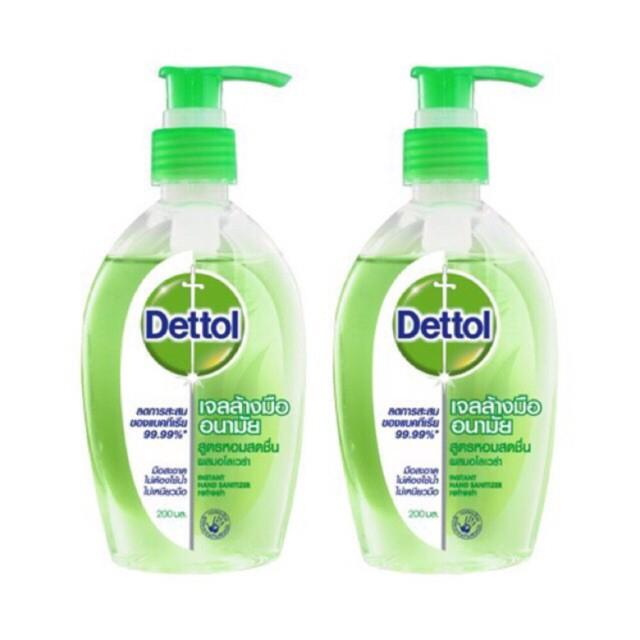 🎉🎉พร้อมส่ง..Dettolเจลล้างมืออนามัย ไม่ใช้น้ำ ของแท้100%สินค้า lot ใหม่ค่ะ