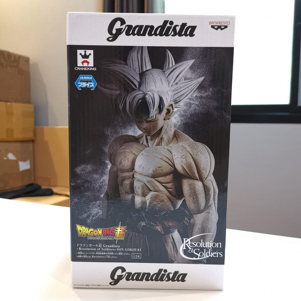 ++ ขาย ฟิกเกอร์ Banpresto Dragonball Super Goku Ultra Instinct โกคูร่างอัตนิยม Grandista ของใหม่ ของแท้ พร้อมส่ง ++