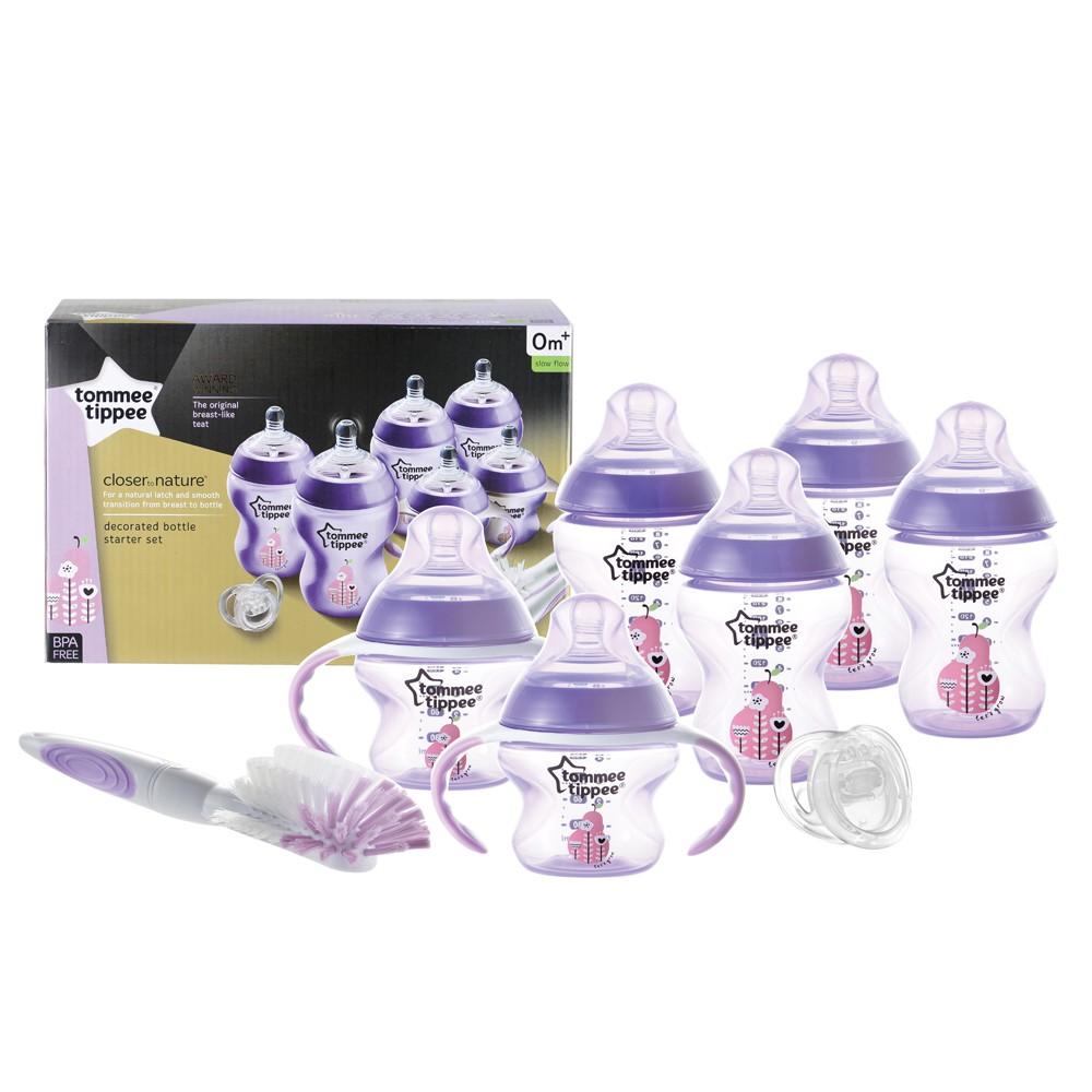 Tommee Tippee Newborn Starter Set – Purple ทอมมี่ ทิปปี้ ชุดของขวัญแรกเกิด – สีม่วง