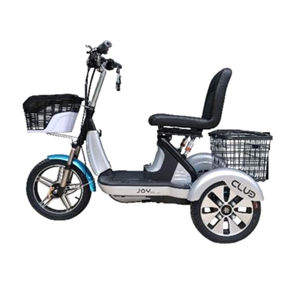 จักรยานไฟฟ้าและสกู๊ตเตอร์ รถสกูดเตอร์ไฟฟ้า JOY BICYCLE 01-CLUB-E-001 สีบลอนด์เงิน จักรยาน กีฬาและฟิตเนส SCOOTER JOY BICY