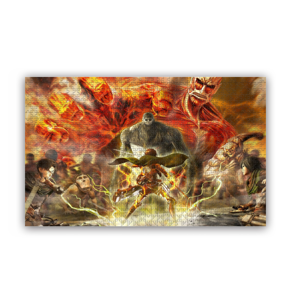 Attack On Titan Puzzle, 300 / 500 / 1000 Pc Puzzle, Casual Game, Adult Game OsZA