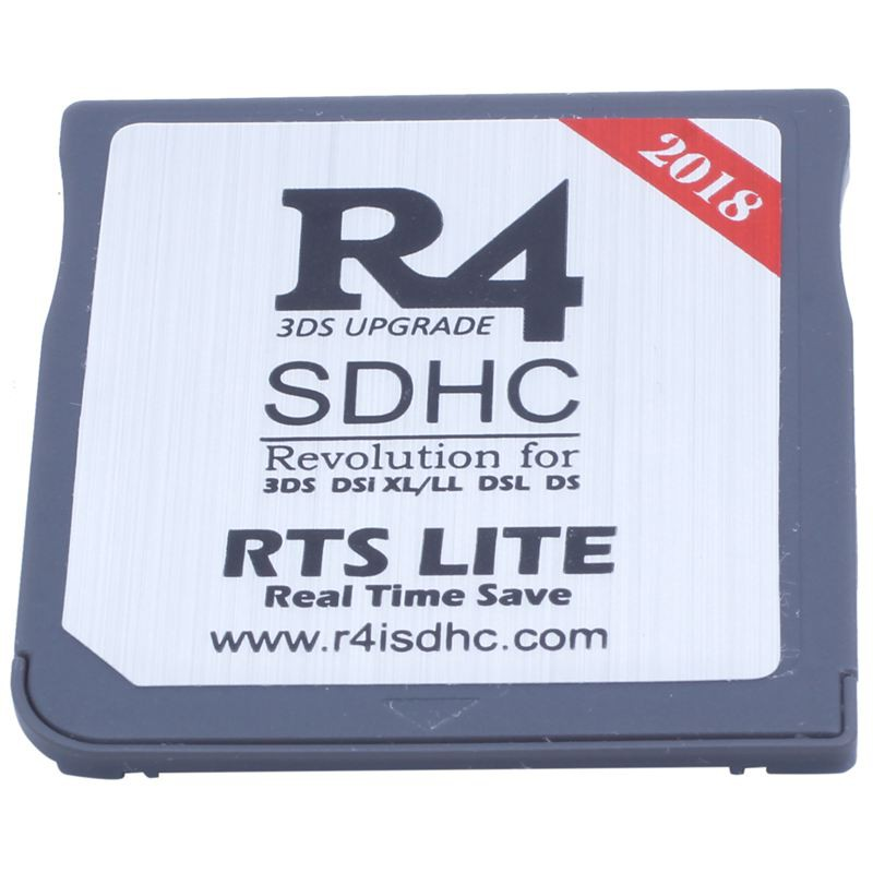 ◦★◦R4 Card Revolution Pro SDHC Flash Card Adapter for 3DS 2DS DSi XL DSL DS  Dual-core Technology 2
