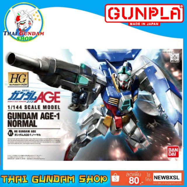 ⭐TGS⭐HG Gundam AGE-1 Normal (Gundam Model Kits)