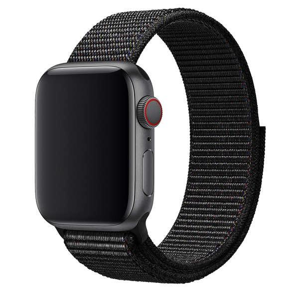สาย applewatch เหมาะสำหรับ Apple Watch applewatch6 สายคล้องไนลอน iwatch5 สาย 38/42/40/44 มม. สาย applewatch 5 / SE / 4/3