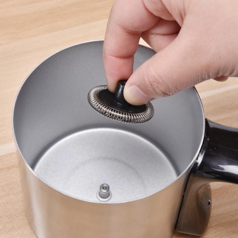 ✦ゆเครื่องชงกาแฟเครื่องชงกาแฟแคปซูลอิตาลี PELLINI เครื่องตีฟองนมอัตโนมัติเครื่องตีฟองนมร้อนและเย็นเครื่องทำฟองนมกาแฟในครั