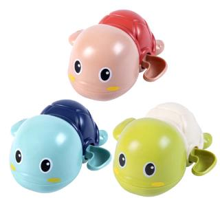 ★★3 Pcs Bath Toys Cute Cartoon Animal Tortoise Classic Baby Water Toy Infant Swim Turtle Clockwork Toy Kids Beach Bath Toys(Random C