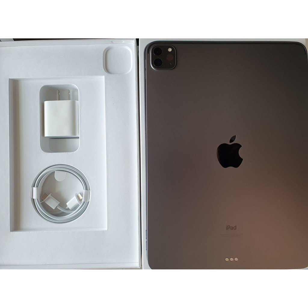 ขาย iPad Pro 11นิ้ว 2021 128 GB Wifi Space Gray ศูนย์ไทย มือ 1  แท้ ครบยกกล่อง พร้อม Apple Pencil Gen2 อุปกรณ์ที่ได้รับ