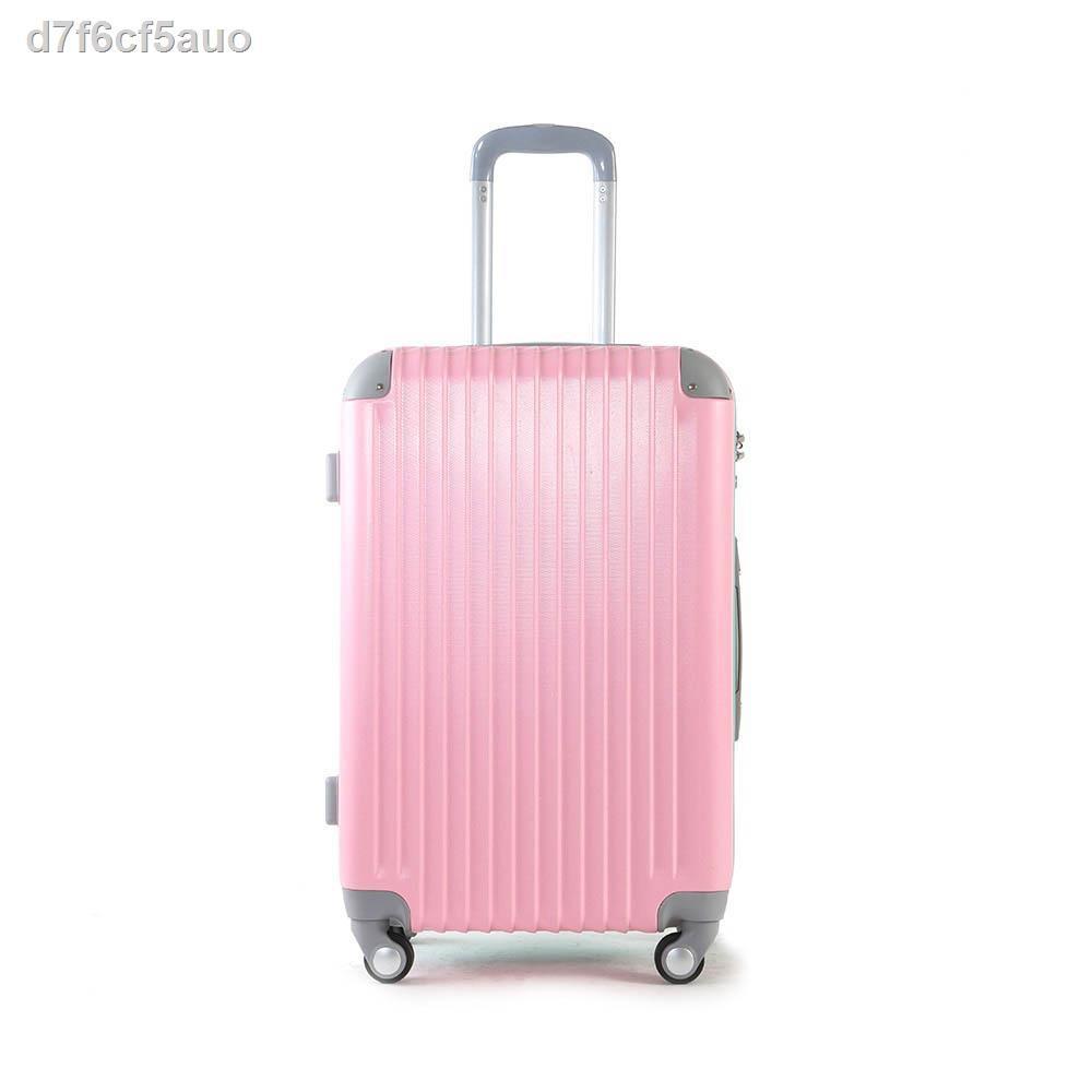 ▧✷MOOF49 | A008 Pastel Series Luggage 20 / 24 inch กระเป๋าเดินทางรุ่น ล้อลาก 4 ล้อ ขนาด นิ้ว