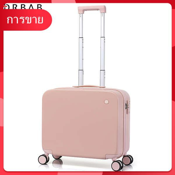 มินิสุทธิดารากระเป๋าเดินทางหญิงขนาดเล็กและน้ำหนักเบา 16 นิ้วห้องโดยสารกระเป๋าเดินทางรหัสผ่านกล่องขนาดเล็ก 18 นิ้วรถเข็นก