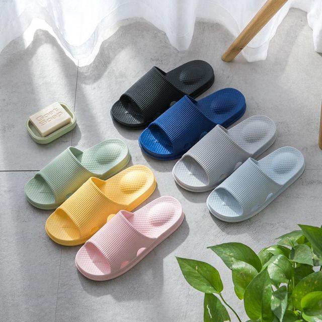 รองเท้าเพื่อสุขภาพ รองเท้านวด รองเท้า รองเท้าสุขภาพ รองเท้าแตะ รุ่นยางEVA กันลื่น น้ำหนักเบาD66