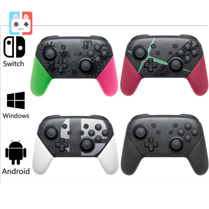 【Gamers】JOY-PRO NINTENDO สวิทช์สวิทช์ควบคุมไร้สายสวิทช์ควบคุมเกม Pro NFC ตื่นไข่ HD สั่นสะเทือนฟังก์ชั่นเต็มรูปแบบ