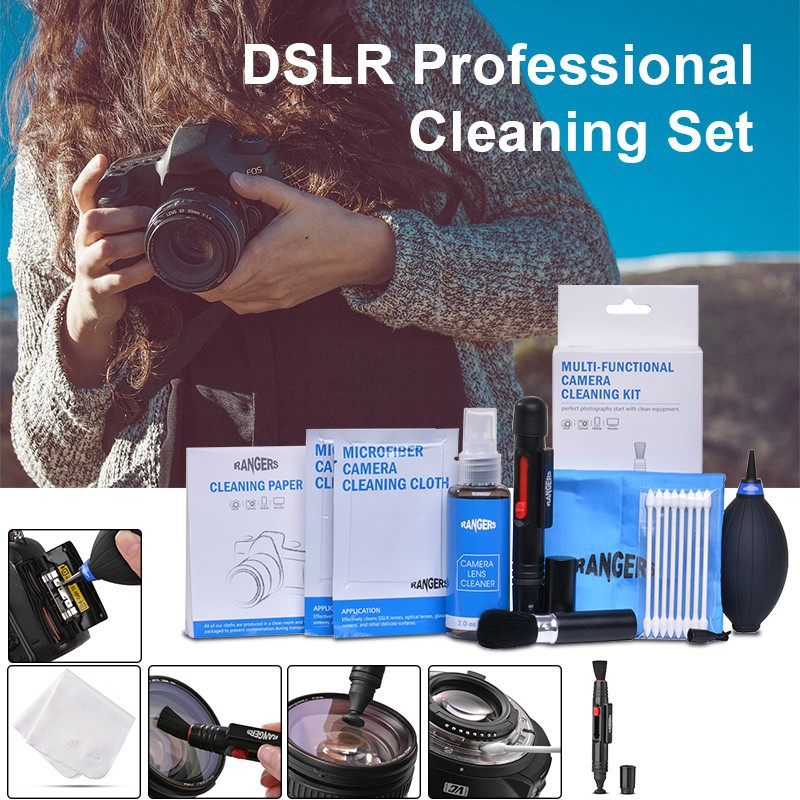 Lens Cleaning Pen ND8 Lens Cleaning Cloth ND16 Neutral Density Filters and Carrying Case ND4 Rangers 58mm Full ND2