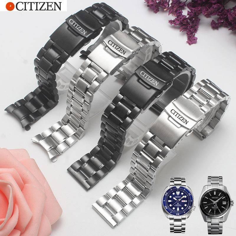 CITIZEN Citizen strap steel belt Light kinetic energy mechanical watch for men women bracelet Stainless steel watch acce