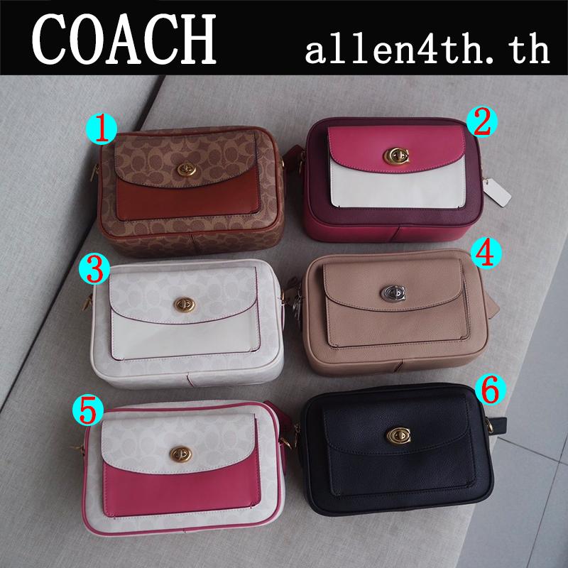 กระเป๋าผู้หญิง Coach แท้ F639 F640 กระเป๋าสะพายข้างผู้หญิง / crossbody bag / กระเป๋ากล้อง / กระเป๋าforever young
