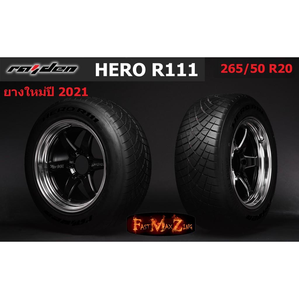 ยางปี 2021 Raident Hero R111 265/50 R20 ยางซิ่ง