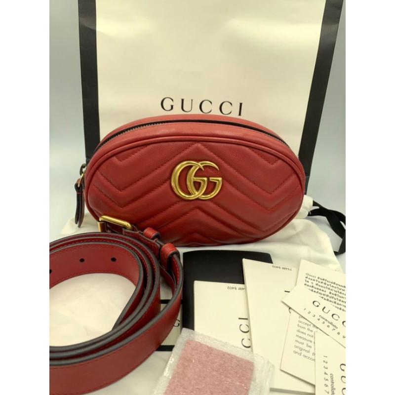 Gucci Marmont Belt Bag ของแท้100%