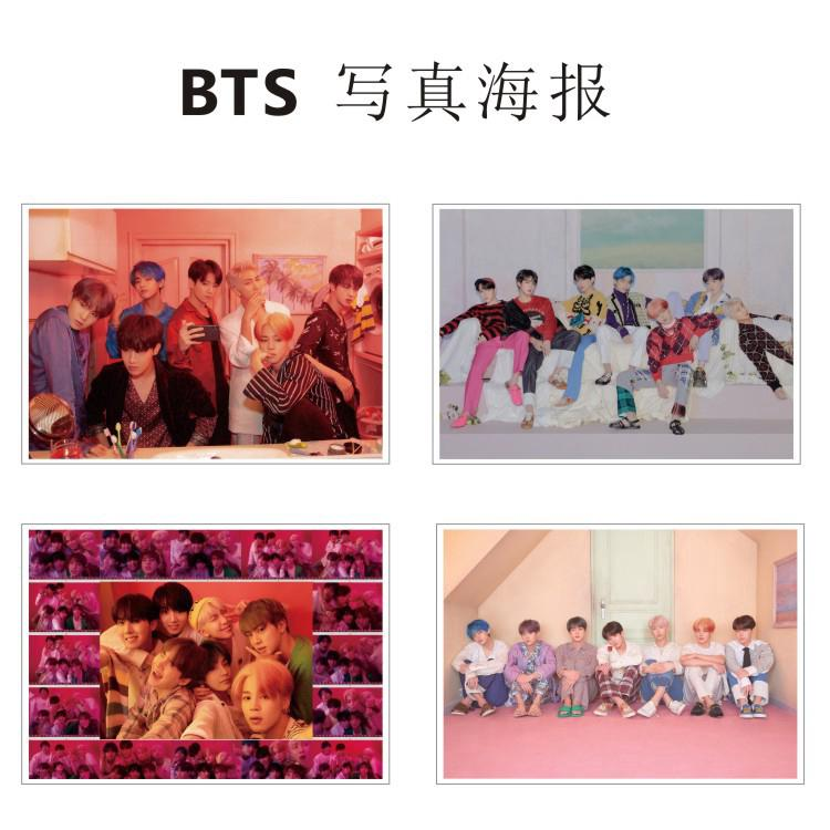 Review 2019 4/23】KPOP BTS Map Of The Soul Bangtan BOYS Poster Banner