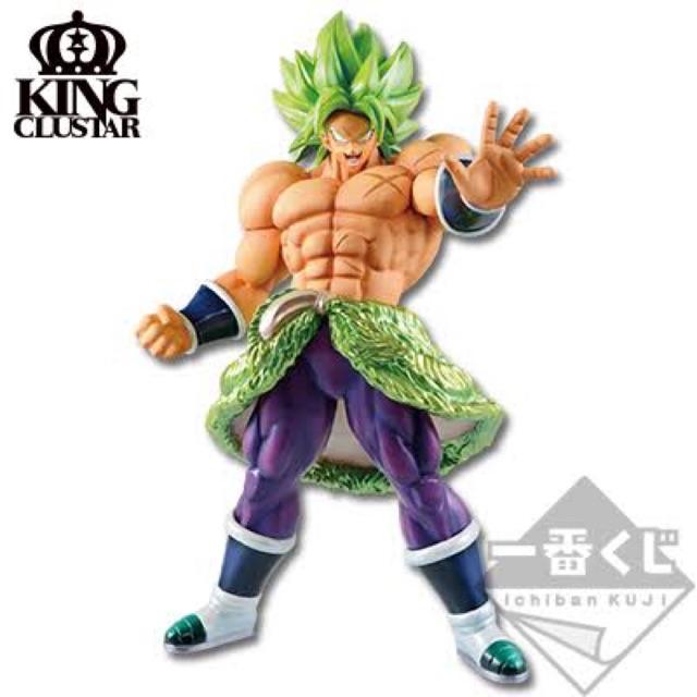 (ของแท้) Last One Prize Ichiban KUJI Dragonball 20TH Film King Clustar Broly Full Power Model Figure BANDAI โมเดล