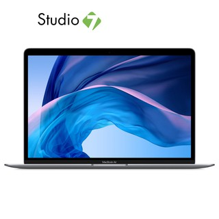 APPLE MACBOOK AIR 13.3 : 1.1GHZ DUAL-CORE INTEL CORE I3 GEN10TH/8GB/256GB - SPACE GRAY-2020 โน้ตบุ๊ค by Studio7