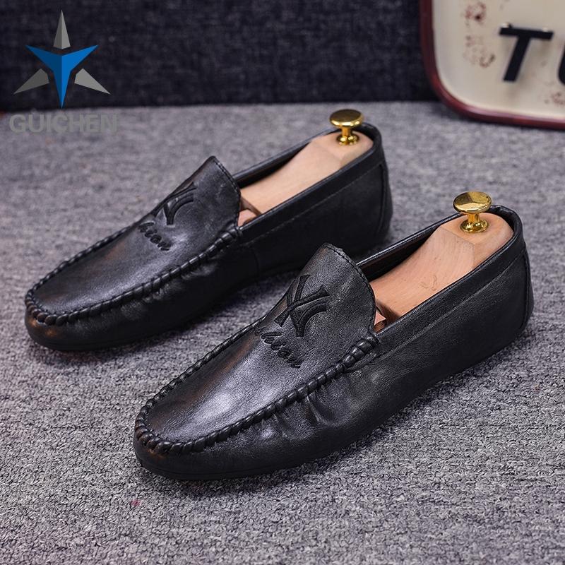 ⚡GC รองเท้าโลฟเฟอร์หนัง สีดำ สำหรับผู้ชาย รองเท้าคัชชู ผู้ชาย