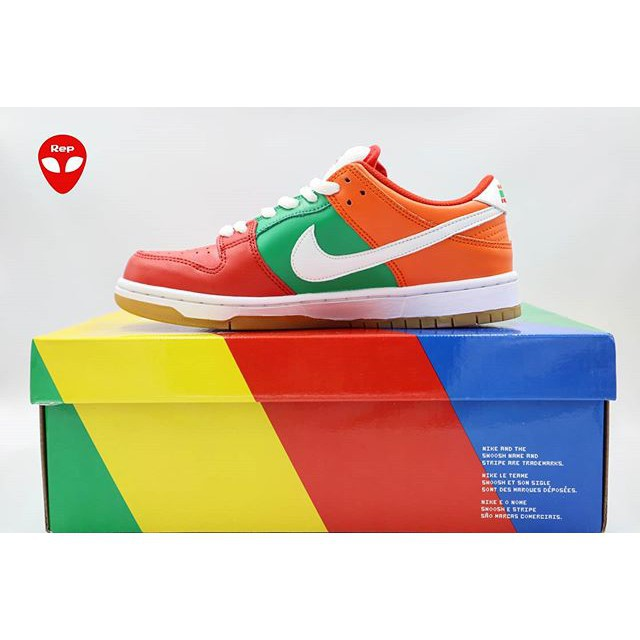 ✟Genuine Nike SB DUNK LOW X 7-Eleven 7-11 Convenience Store Joint Men s Shoes Women Skateboard Sports