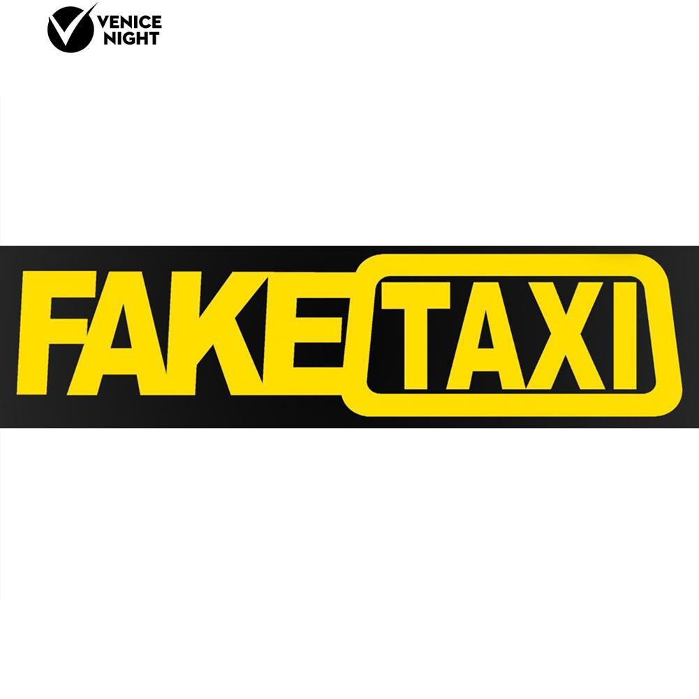 สติกเกอร์รถยนต์ FAKE TAXI Drifting  เข้าสู่ระบบการแข่งขันการตกแต่งรถยนต์อัตโนมัติ