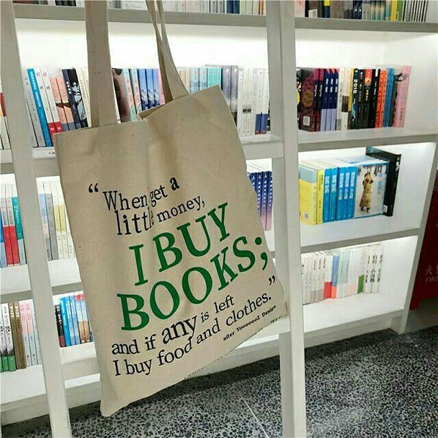 I buy books